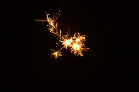The sparklers