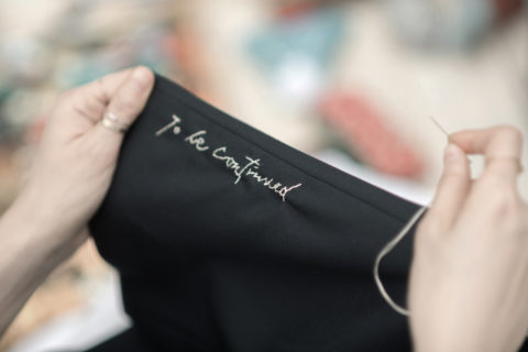 The handwritten fashion