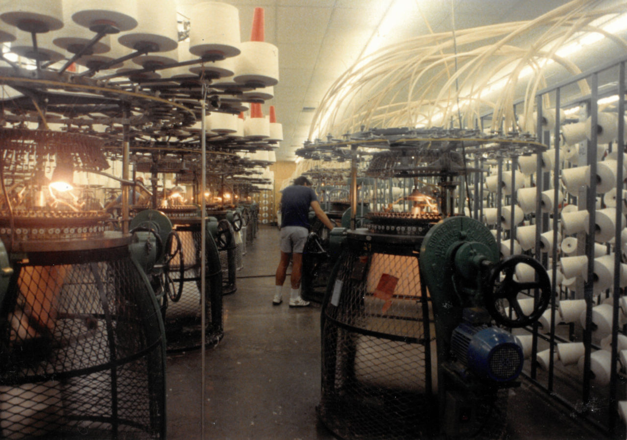 1 – Tee Jays Manufacturing – The Factory – Photo Courtesy of the Wylie Family